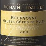 Nouveau vin : Hautes Côtes de Nuits 2010