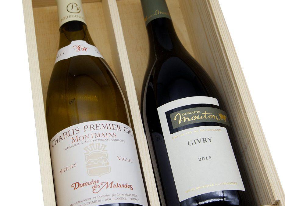 Coffrets vins Noël