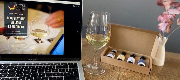 L'école des vins de Bourgogne propose des cours en ligne et en direct